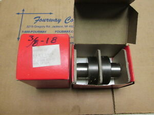 Reed rico Thread Roll Dies 4000000723 B18 3 8 18 Ptf 576wf R2 two New Boxes