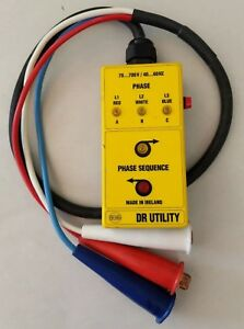 Greenlee Dr Utility Beha Phase Sequence Lead Tester Made In Ireland