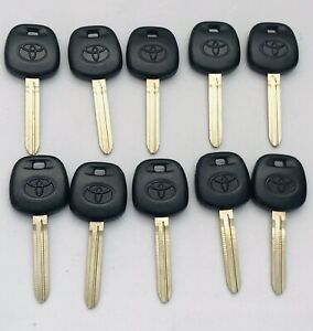 Toy44g X10 Toyota 2010 2014 G Chip Transponder Key Factory 89785 08040 Lot Of 10