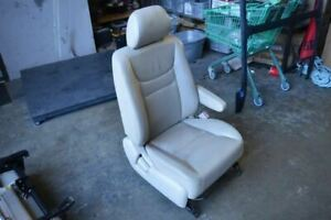 2002 Toyota Highlander Right Passenger Front Seat Chair Tan Leather Rip