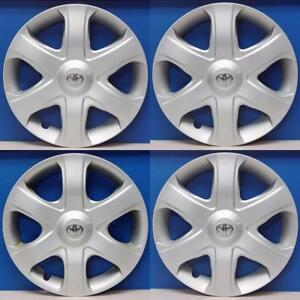 2009 2010 Toyota Matrix 61149 16 Hubcaps Wheel Covers 4262102100 Set 4