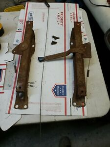 1973 1979 Seat Tracks Ford Truck 73 79 78 79 Bronco F150 F350 Bench Seat