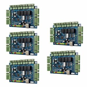 5x Tcp ip Wiegand Network Entry Access Controller Panel Of 4 door 4 card Generic