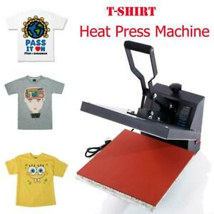 15 X 15 Digital Heat Press Machine For T shirts W Automatic Electronic Timing