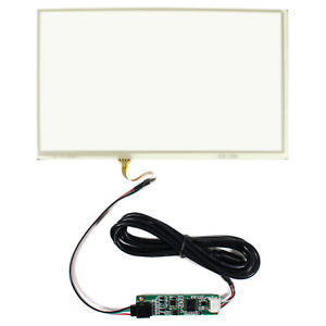 9 Resistive Touch Panel 210mm X 125mm For 9 Lcd Screen With Controller Card