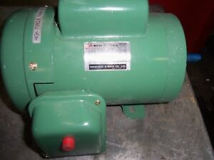 Teco Electric Motor Single Phase 1 3 Hp