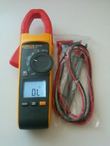 Fluke 374 Fc True Rms Ac Dc Clamp Meter Multimeter New Test Lead Probes Nice