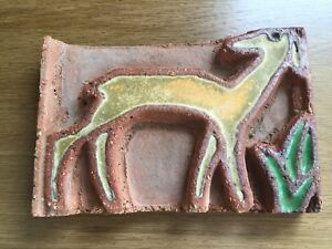 Rare Enfield Or Moravian Tile American Art Pottery Tile Arts And Crafts Mission