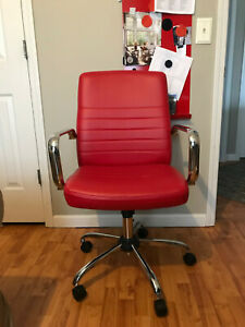 Global Furniture Computer gaming desk Chair Red