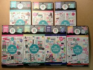 Set Of All 7 Me My Big Ideas The Happy Planner Mini Sticker Books