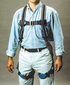 Miller Duraflex Blue Full Body Harness Fall Protection Safety 400lb Small medium
