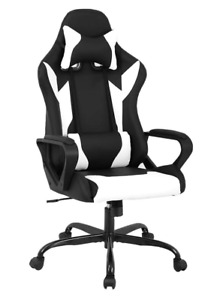 Best Office Chair Fun Pc Gaming With Lumbar Support Cheap Nice Head Arm Rest New