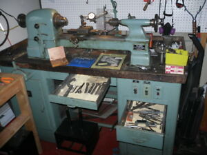 Elgin Metal Lathe Model Ecl sc W Heavy Bench tools New Leeson Vfd Controller