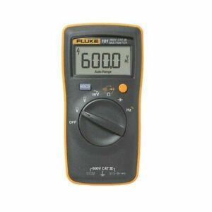 Fluke 101 Digital Multi Meter Dmm Electric Tester ac dc pocket size portable_ru