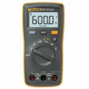 Fluke 107 Digital Multi Meter Dmm Electric Tester Back Light Portable ac dc_ru