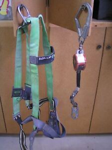 Miller Fall Arrest Set Harness P950 4 xxlgn Fall Limiter Pfl 6 ft