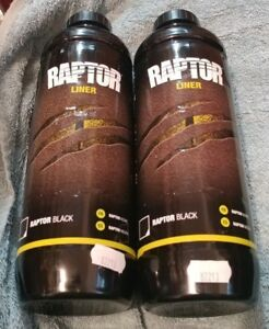 Raptor Black Truck Bed Liner U Pol Products 0822 Up0822 750ml Qty 2