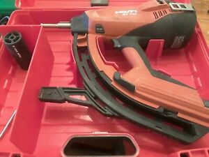 Hilti Gx 120 Gas Actuated Fastening Tool With Partial Gas And X np Kit