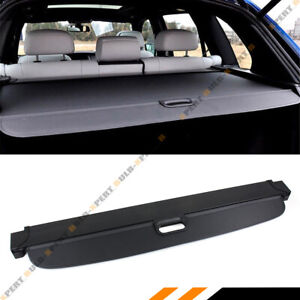 For 07 18 Bmw X5 E70 F15 Blk Retractable Trunk Cargo Cover Luggage Shade Shield