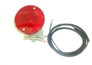 Ford 601 701 801 901 2000 4000 4cyl Tractor 6v Duolamp Tail Light With Bracket
