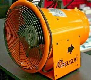 Pelsue 1400d Axial 8 Tube Type Blower 12 Vdc 15amp 1 4 Hp 02chb
