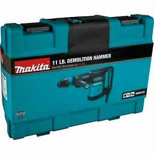 Makita Corded Sds max 11lbs Variable Speed Demolition 10 Amp Hammer W hard Case