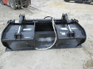 New 78 Hd Log Root Brush Solid Grapple Bucket 2 Cylinder Usa Made Attachment