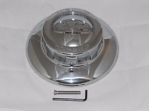 Weld Racing 614 5516 Evo Forged Chrome Wheel Rim Center Cap 8 1 8 Dia W Screw