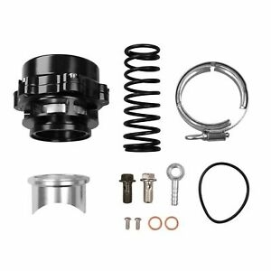 Black Car Turbo Blow Off Valve Bov Vband Flange Spring 0 4 1 3 Bar 50mm