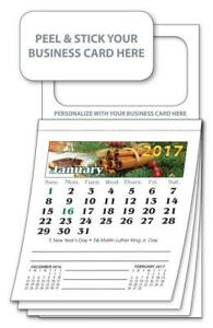 2019 Magnetic Business Card Calendars Standard Ver 4201 Free Shipping