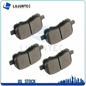 Front Ceramic Brake Pads For 1998 1999 2002 Toyota Corolla Low Noise 4pcs Set