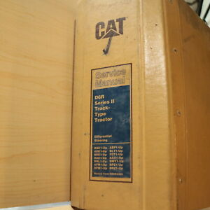 Caterpillar D6r Series 2 Ii Tractor Crawler Dozer Service Shop Repair Manual Cat