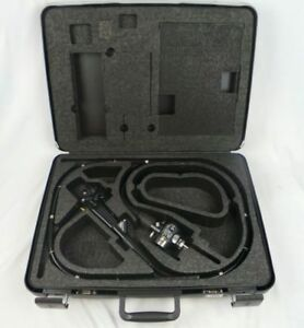 Olympus Cf 140l Colonoscope Flexible Endoscope With Case free Shipping As Is