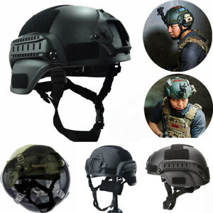 MICH2000 Outdoor Airsoft Military Tactical Combat Riding Hunting Helmet Hat