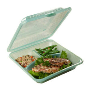 Get Ec 12 1 ja Eco takeouts trade 9x9 To Go Food Container 1 Dozen