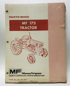 Massey Ferguson Mf 175 Parts Catalog Manual Book Tractor List Guide 651 190 M96