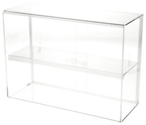 Plymor Locking Acrylic Display Case 1 Shelf 16 H X 22 W X 8 5 D