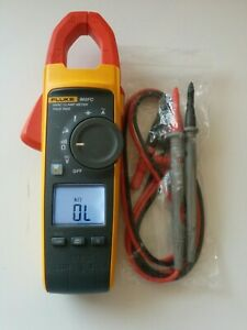 Fluke 902 Fc True Rms Ac Hvac Clamp Meter Multimeter Test Lead Probes Nice