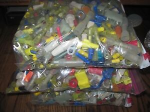 10 Lbs Assorted Connectors Terminals Splice Crimp Electrical Heat Shrink