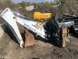 Bobcat 8709 Backhoe Hydraulic Skid Steer Attachment Fits 873 And 883