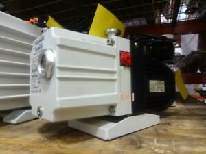 Pfeiffer Duo 2 5 Vacuum Pump Rebuilt And Tested With 6 month Warranty