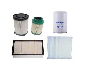 Diesel Fuel Air Oil Filters Recommeded Service For Nissan Titan Xd 5 0 16 18
