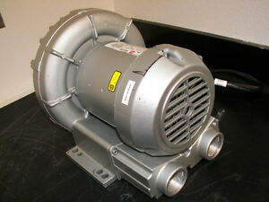 Gast Series 3 Regenair Regenerative Blower Model R3305a 1 tested Good 3ph 208