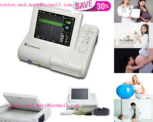 Fetal Monitor fetal Heart Rate maternal Uterine Contraction Alarm recorder hot