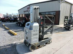 2010 Jlg 20mvl Personnel Lift 20 Reach Self Propelled Good Condition