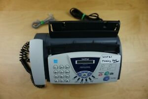 Brother Fax 575 Personal Plain Paper Fax missing Paper Support