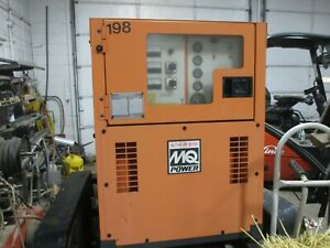 Multiquip 45 Kva Diesel Generator Low Hours Towable Will Ship 3 Phase 1 Owner