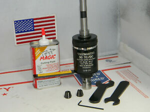 Tapmatic 30 Tc dc Tapping Attachment 1 2 shank 2 Collets wrenches