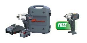 1 2 Cordless Impact Wrench Standard Anvil Kit W free 3 8 Impact Wrench