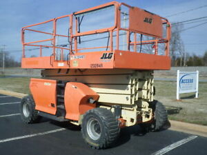 2011 Jlg 4394rt 43ft Platform Lift 43 Scissor Lift Rough Terrain Man Lift